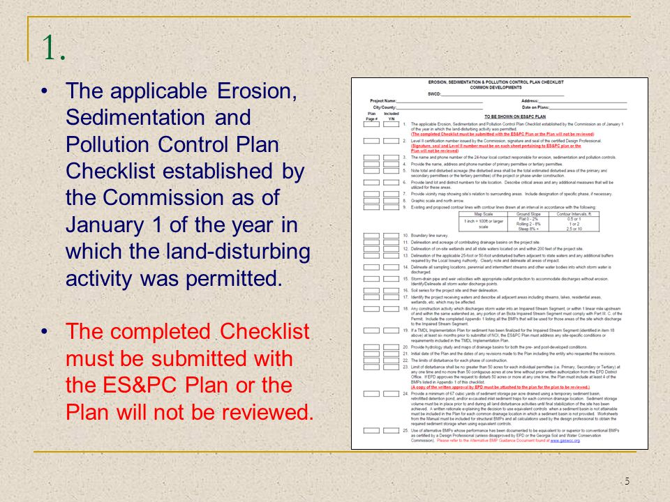 46 42 Indication that amendments/revisions to the ES&PC Plan which have a significant effect on BMPs with a hydraulic component must be certified by the design professional.