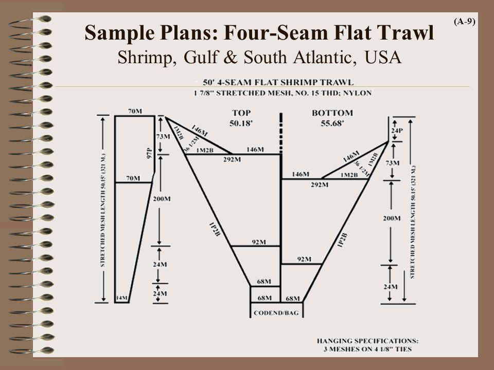 Sample Plans: Four-Seam Flat Trawl Shrimp, Gulf & South Atlantic, USA (A-9)