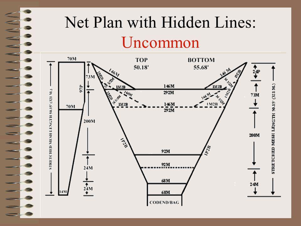 Net Plan with Hidden Lines: Uncommon