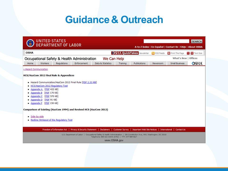 Guidance & Outreach