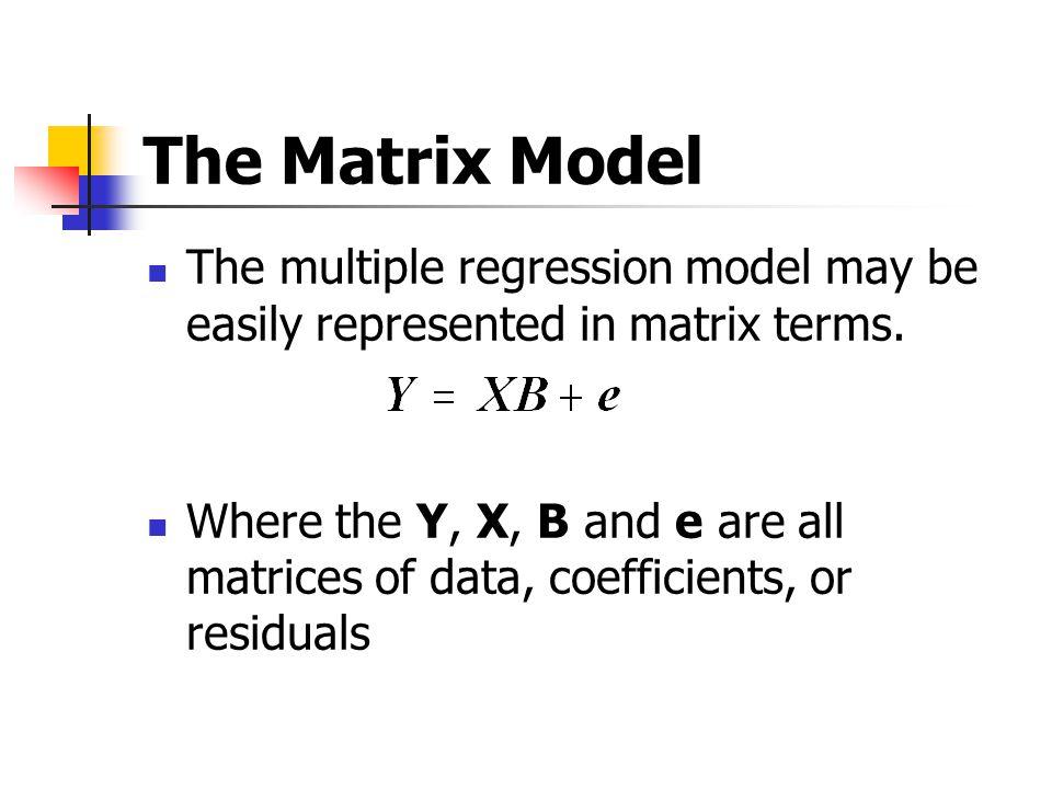 Using Stata to do matrix Algebra Try the following command set matrix input A= (1, 2 \ 3, 4) matrix list A matrix input B= (5, 6 \ 7, 8) matrix list B