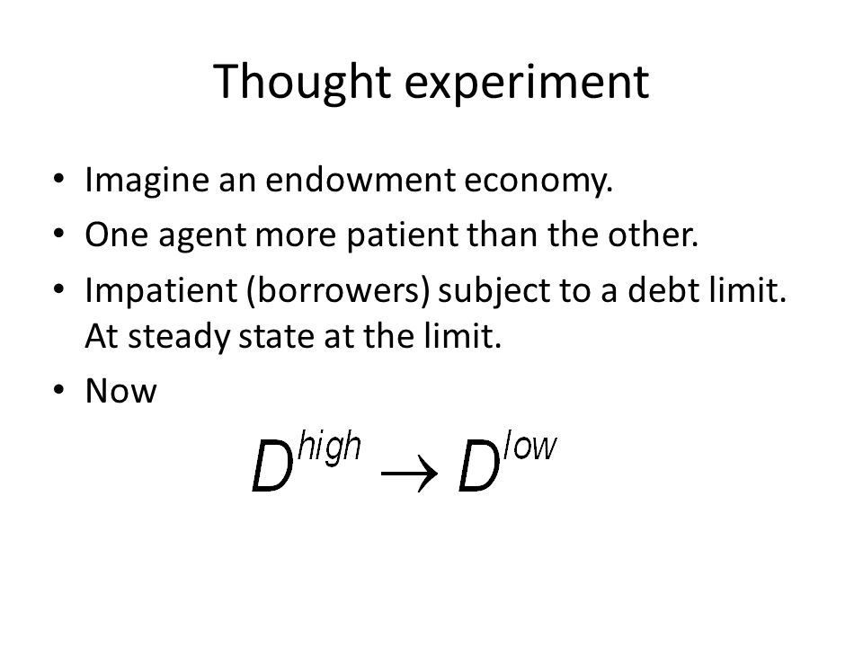 Suggestions for next paper Introduce entrepreneurs (use e.g.