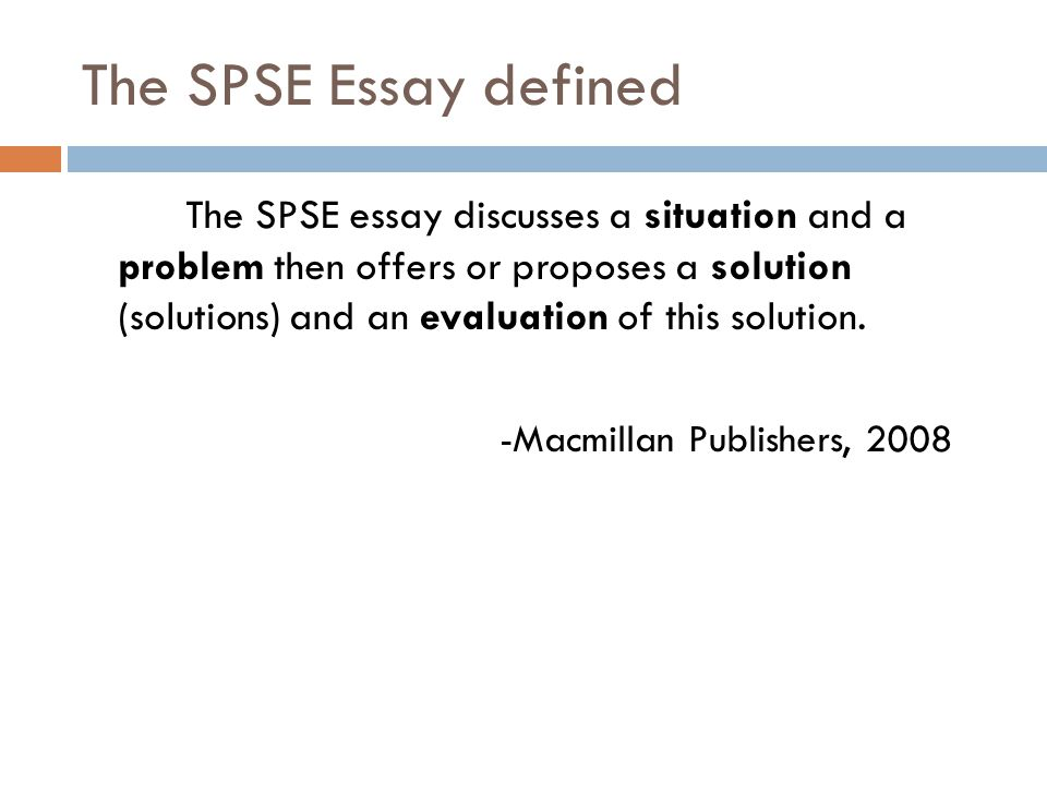 Proposing A Solution Essay Ideas