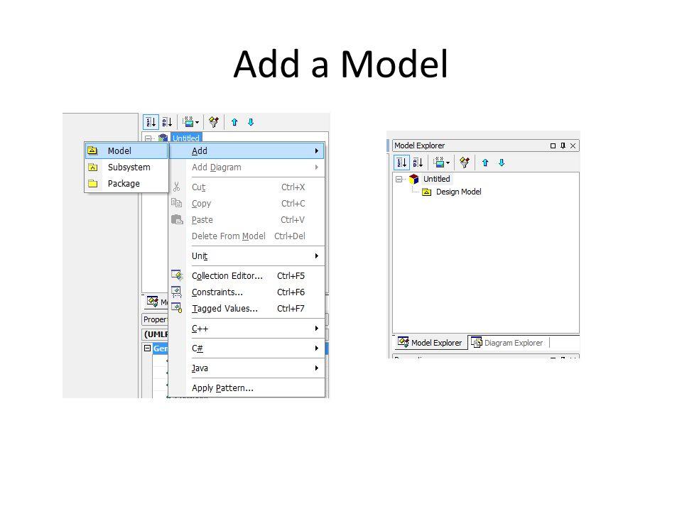 Add a Model