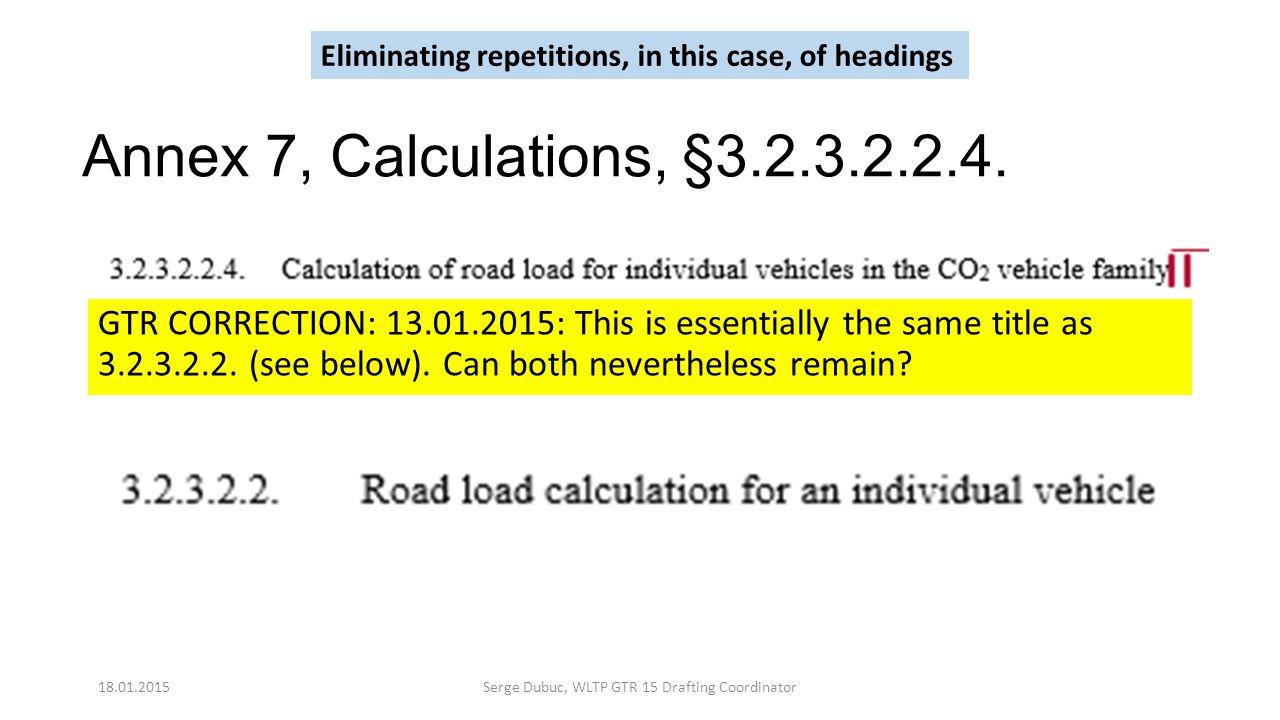 Annex 7, Calculations, §3.2.3.2.2.4.
