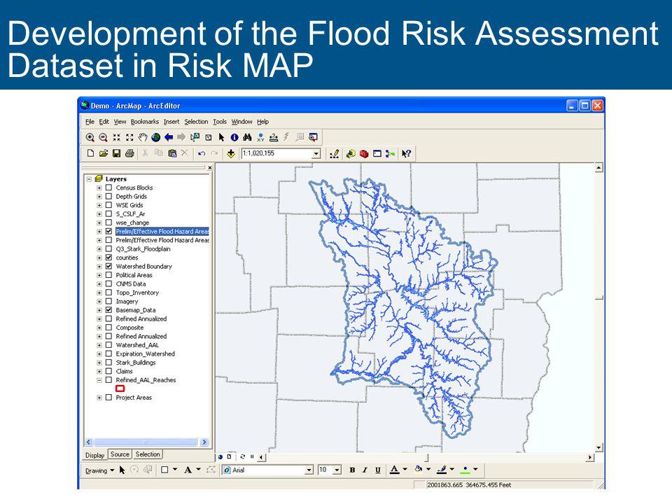 11 Development of the Flood Risk Assessment Dataset in Risk MAP