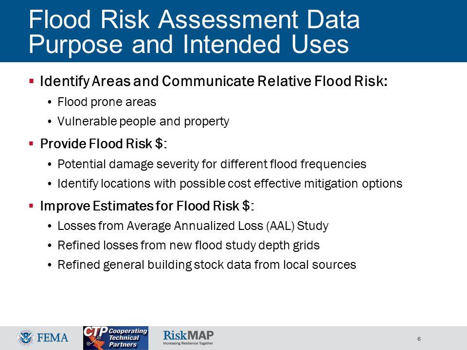 37 Flood Risk Map Flood Risk Data  Census Blocks symbolized with Risk Assessment Data