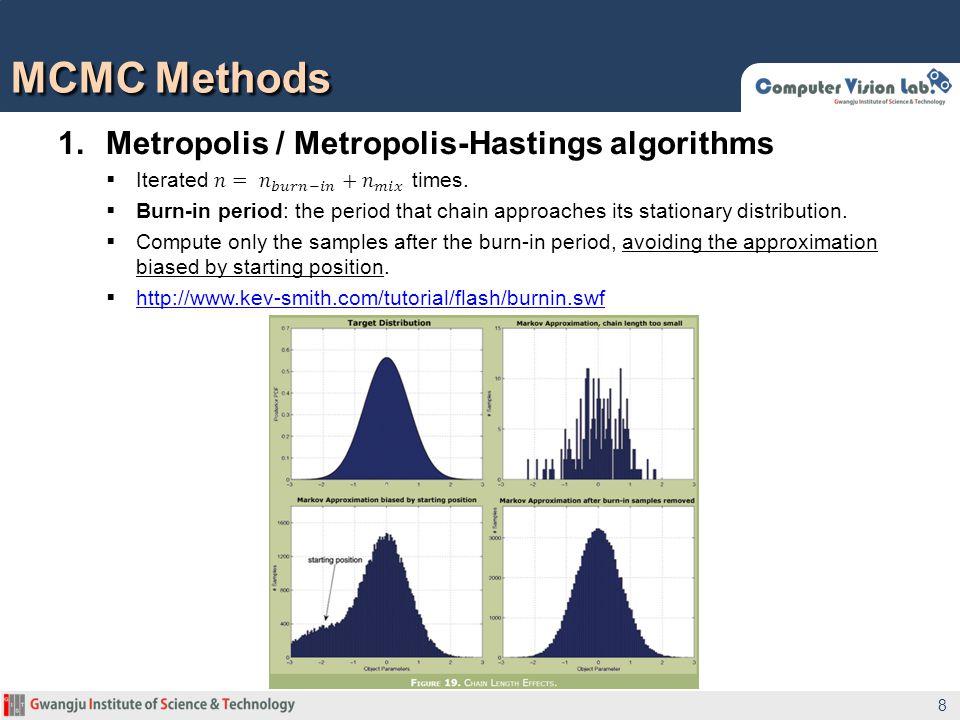 MCMC Methods 8