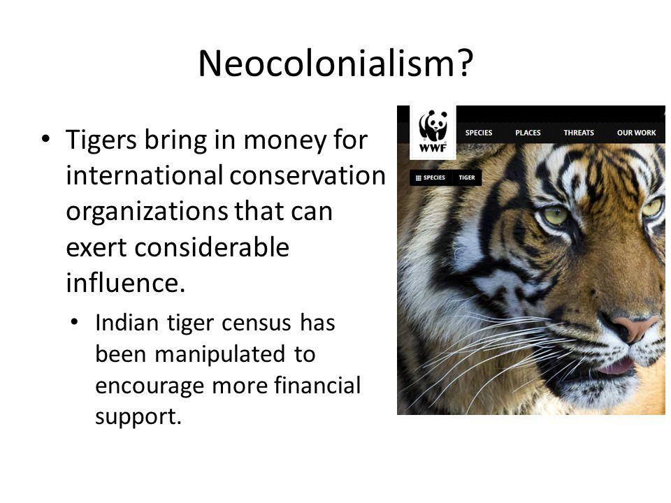 Neocolonialism.