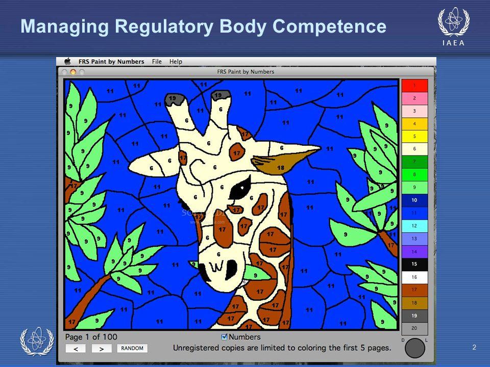 IAEA Managing Regulatory Body Competence 2