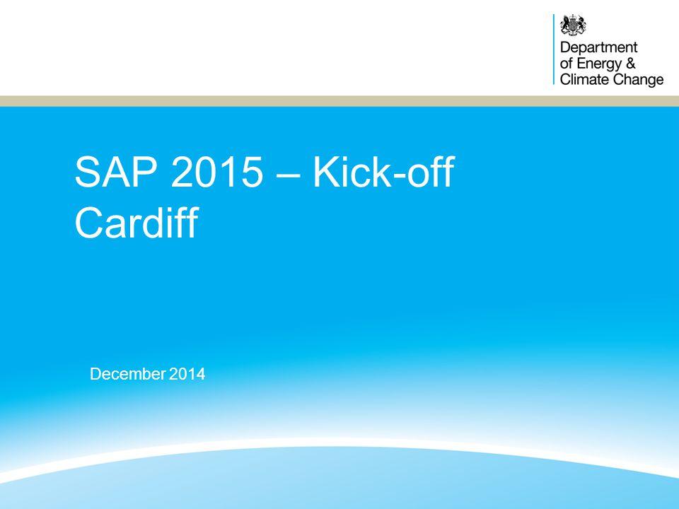 SAP 2015 – Kick-off Cardiff December 2014