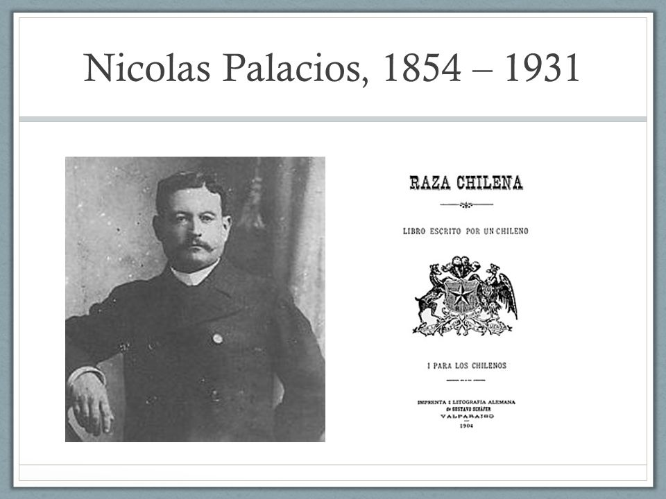 Nicolas Palacios, 1854 – 1931