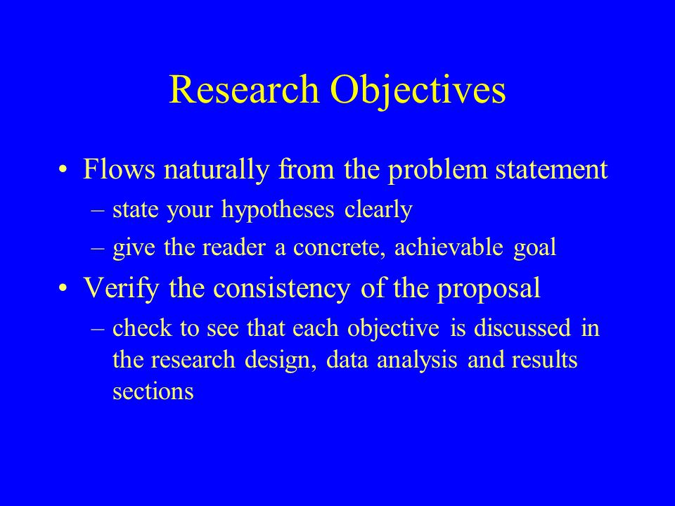 Delimiting the Research This is what the researcher does not want to do in the project –Should be stated clearly and explicitly.