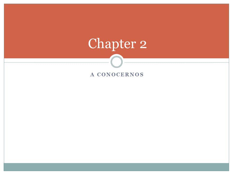 A CONOCERNOS Chapter 2