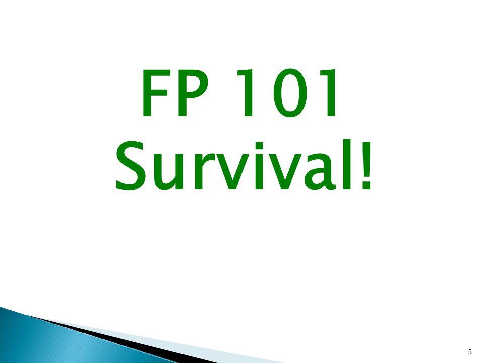 FP 101 Survival! 5