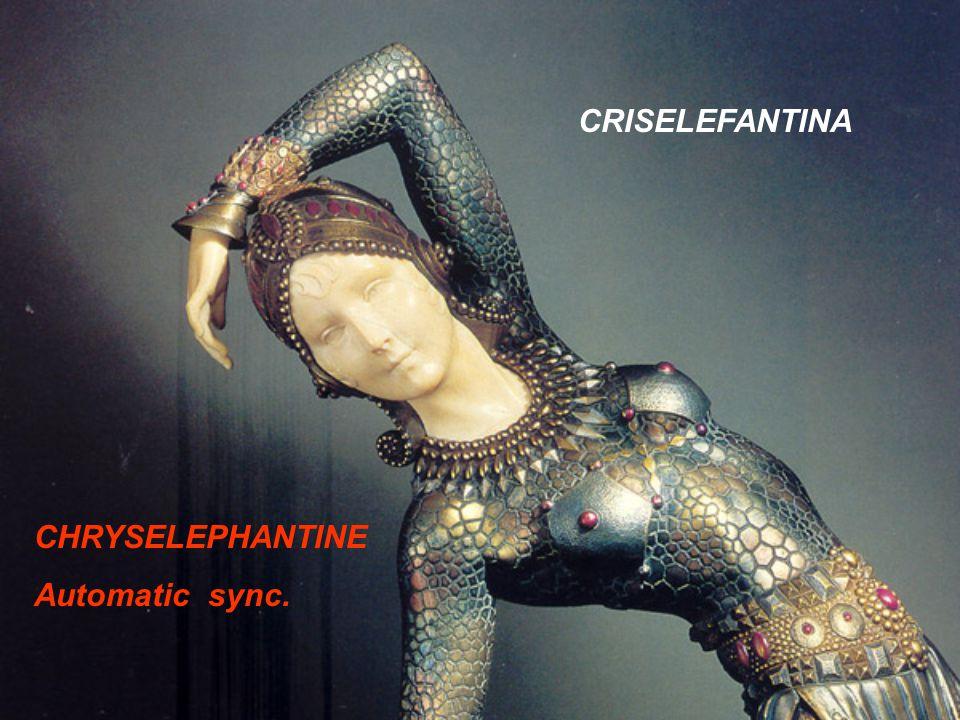 CRISELEFANTINA CHRYSELEPHANTINE Automatic sync.