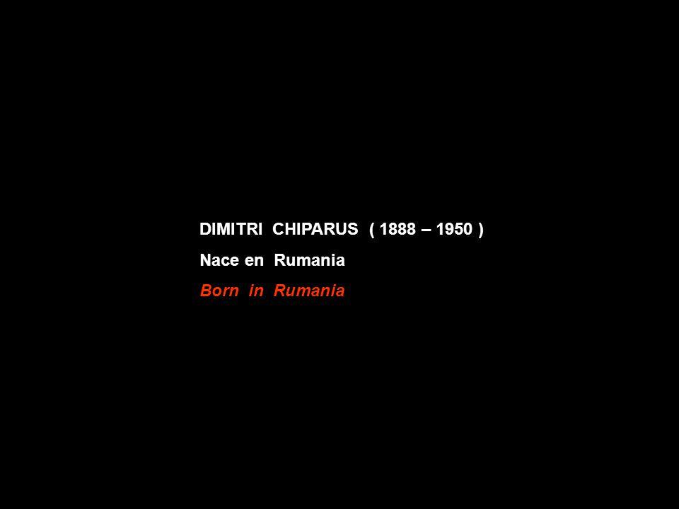 DIMITRI CHIPARUS ( 1888 – 1950 ) Nace en Rumania Born in Rumania