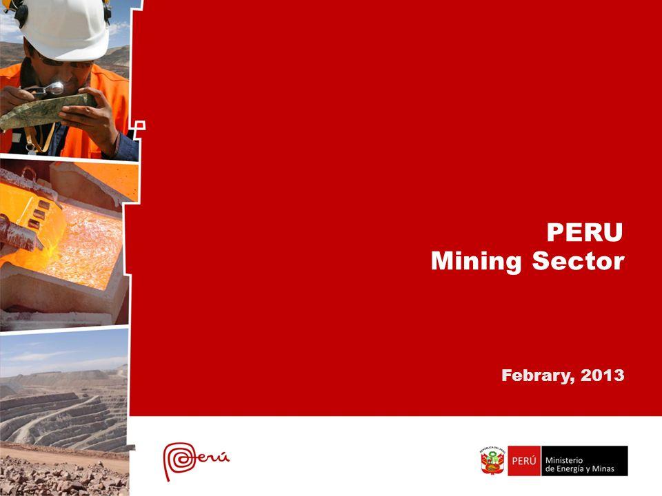 PERU Mining Sector Febrary, 2013