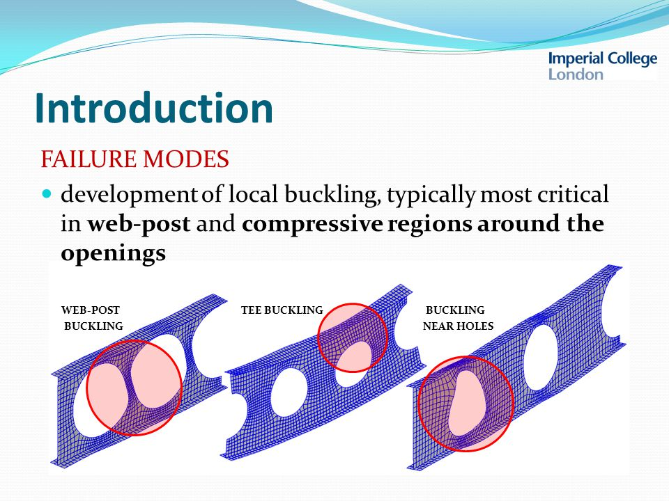 Buckling analysis strategy aims for efficiency and accuracy discrete buckling assessment performed within a local region that consists of at most 3 unit cells the lowest buckling load factor is determined by: 1.