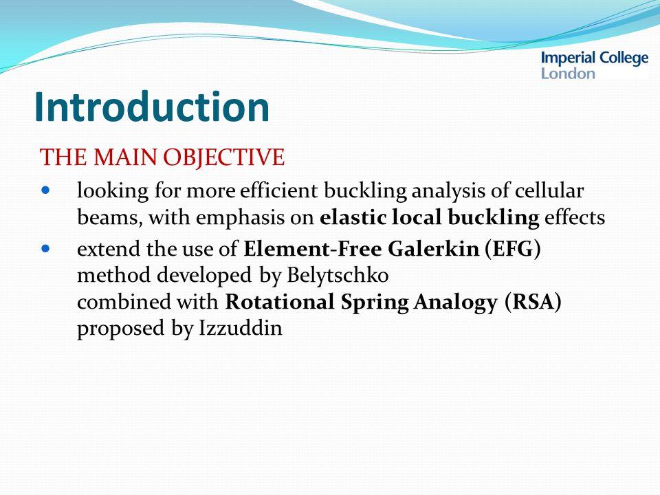 Application examples 2. TEE BUCKLING FEA:ADAPTIC PROPOSED EFG/RSA
