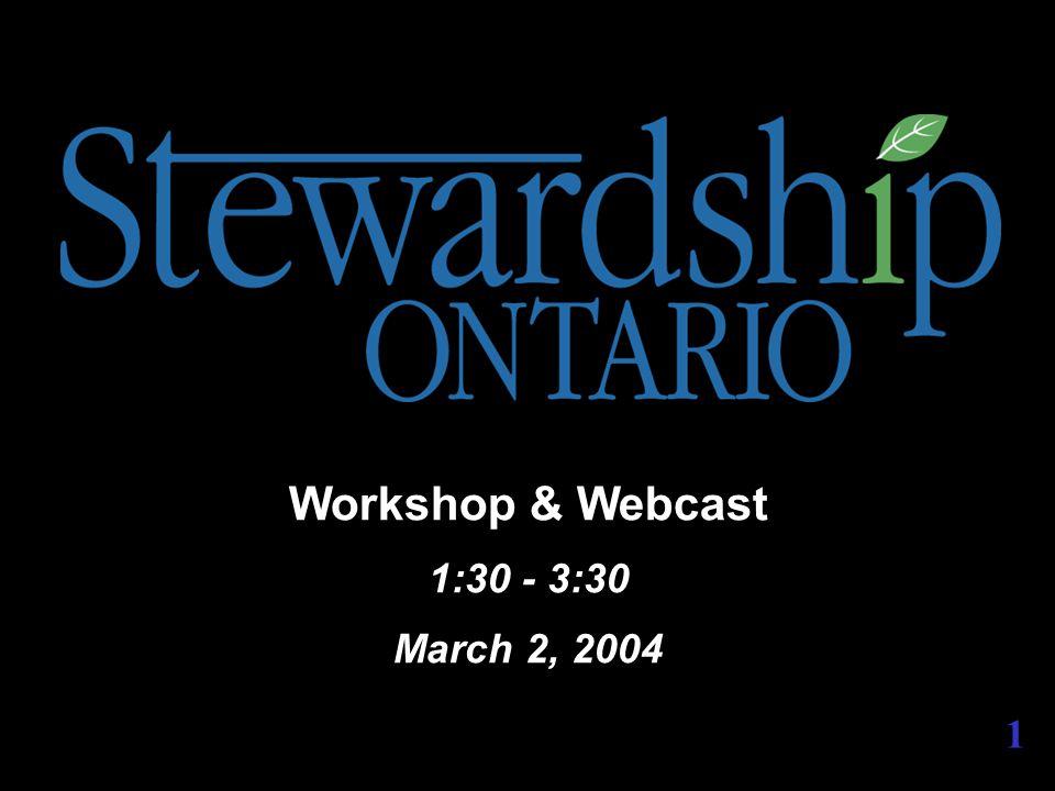 Damian Bassett Stewardship Ontario Examining 2004 & 2005 Steward Fees 2