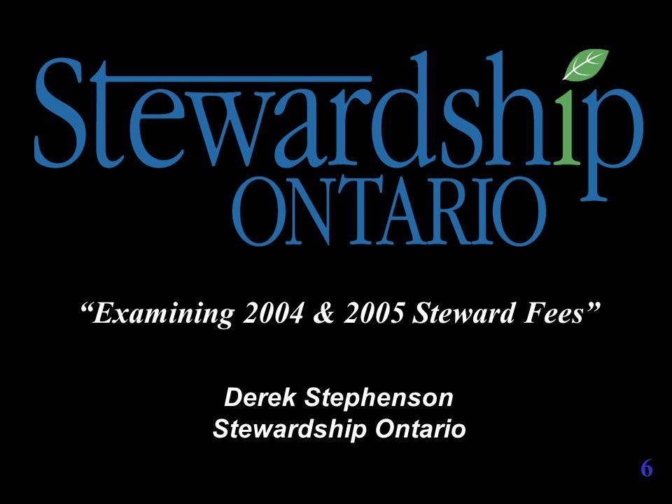 ADDITIONAL SUPPORT Stewardship Ontario Membership Services  www.stewardshipontario.ca  1-888-288-3360  questions@stewardshipontario.ca  Stewardship Ontario 26 Wellington Street East, Suite 601 Toronto, Ontario M5E 1S2 57