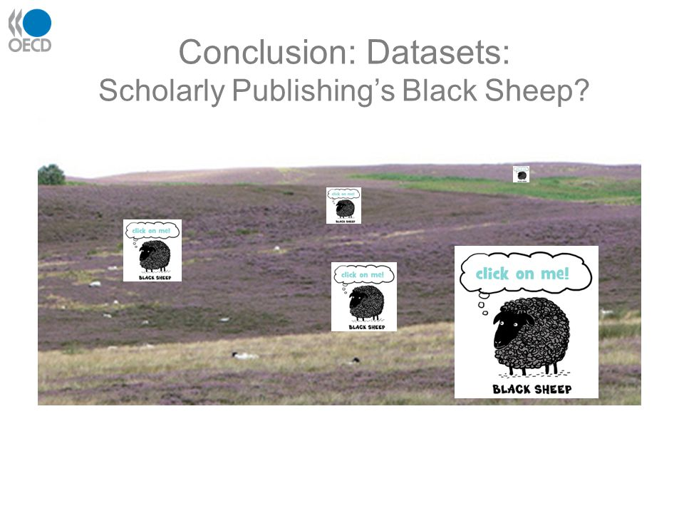 Conclusion: Datasets: Scholarly Publishing's Black Sheep