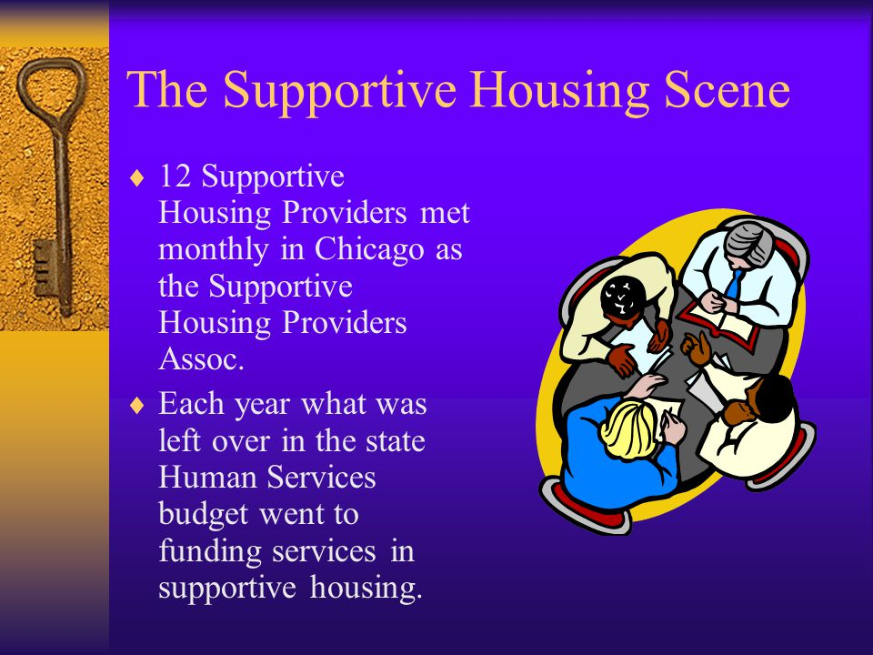 If We Want a State Line Item for Supportive Housing Services, We Need to Be a Statewide Association!