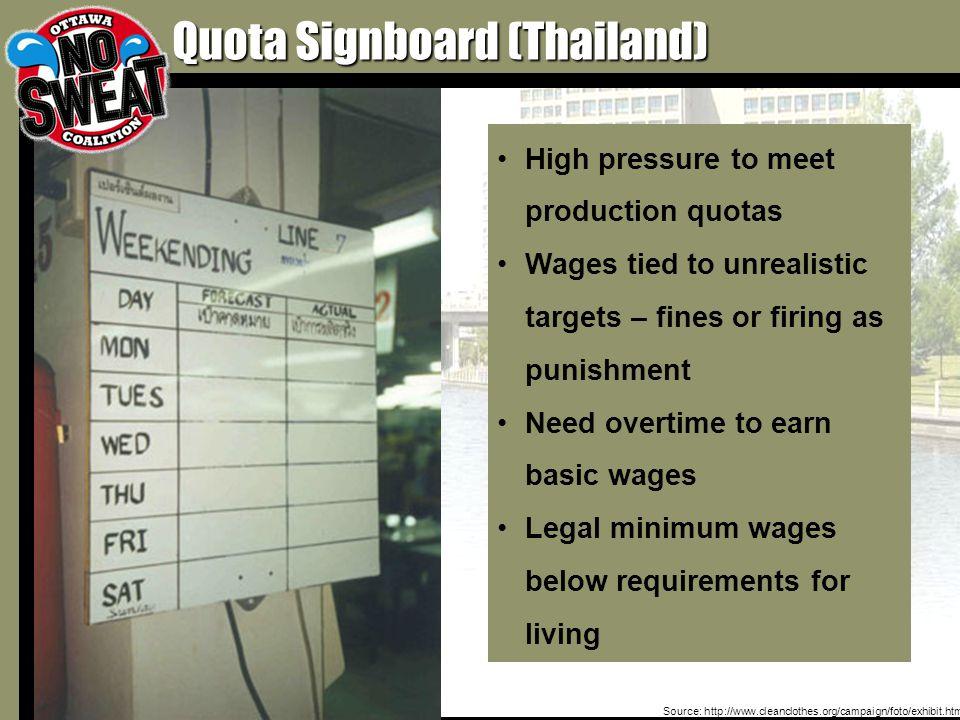 Source: http://www.behindthelabel.org/photo.asp?index=19 Sweatshop Abuses Flourish When Worker Conditions Are Hidden