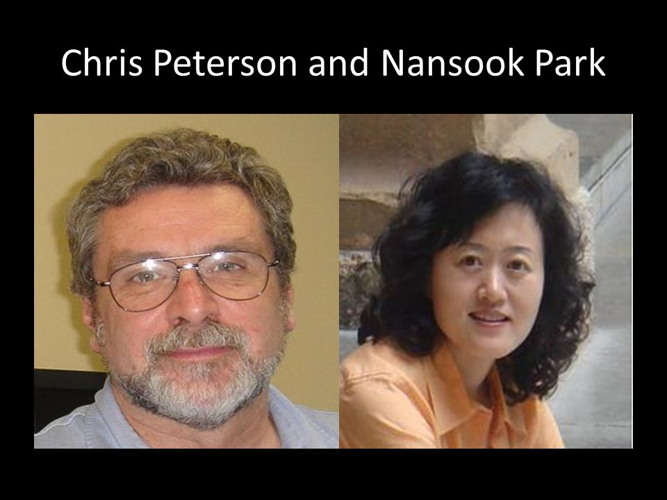 Chris Peterson and Nansook Park