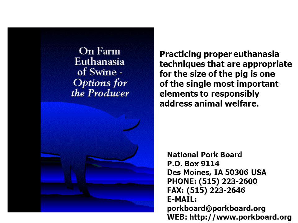 National Pork Board P.O.