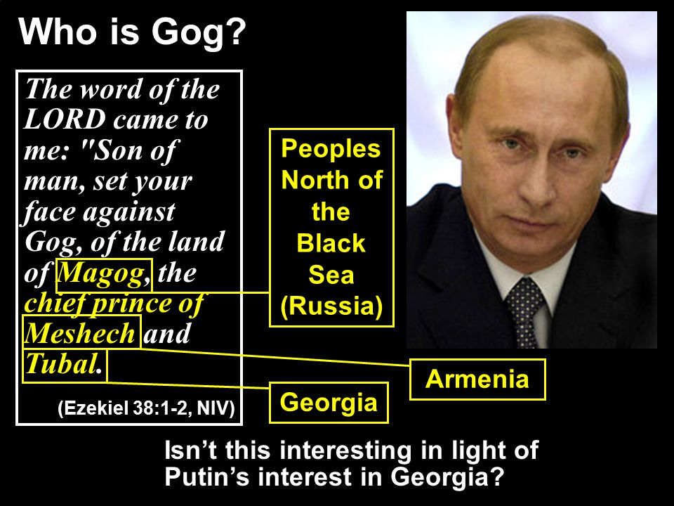 What is significant about Gog being the chief prince .