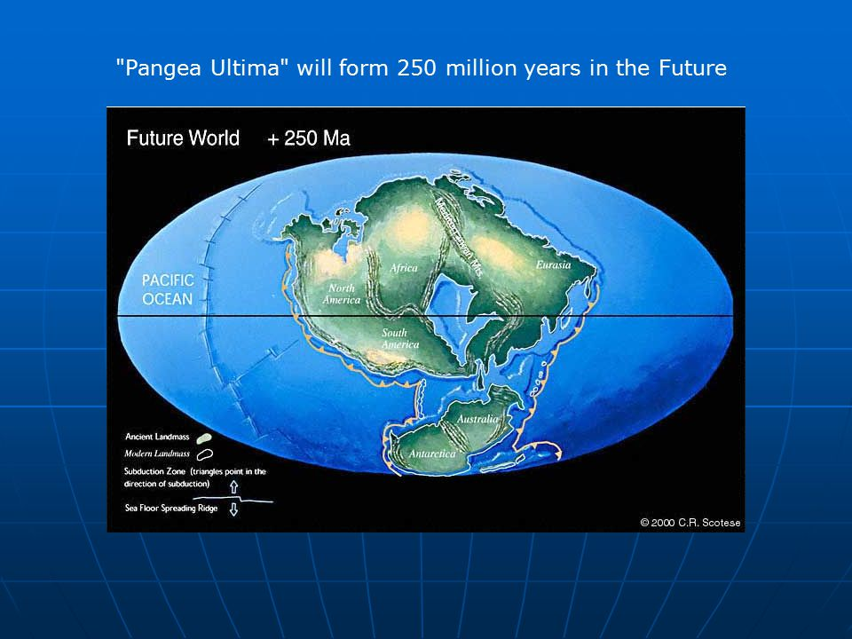 Pangea Ultima will form 250 million years in the Future