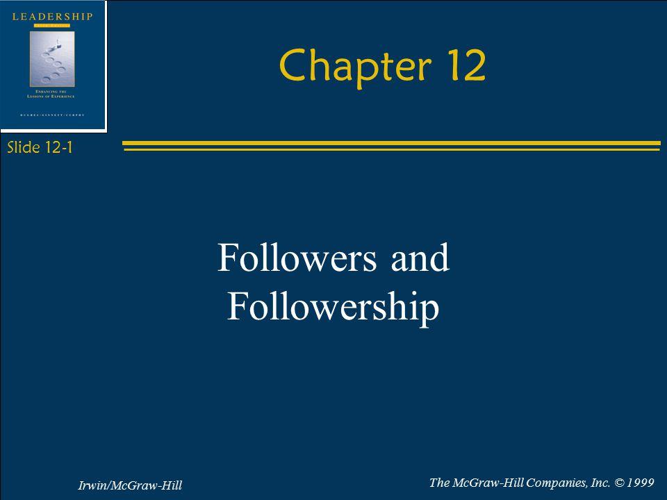 Irwin/McGraw-Hill The McGraw-Hill Companies, Inc.