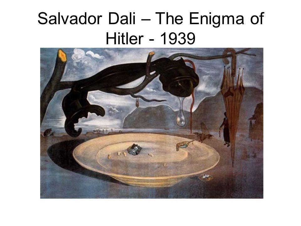 Salvador Dali – The Enigma of Hitler - 1939