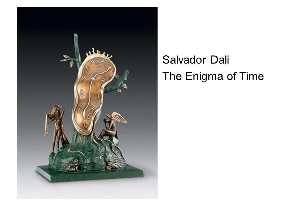 Salvador Dali The Enigma of Time