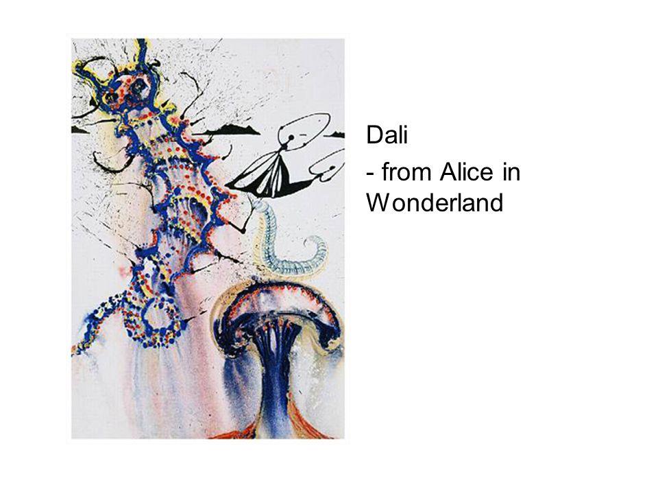 Dali - from Alice in Wonderland