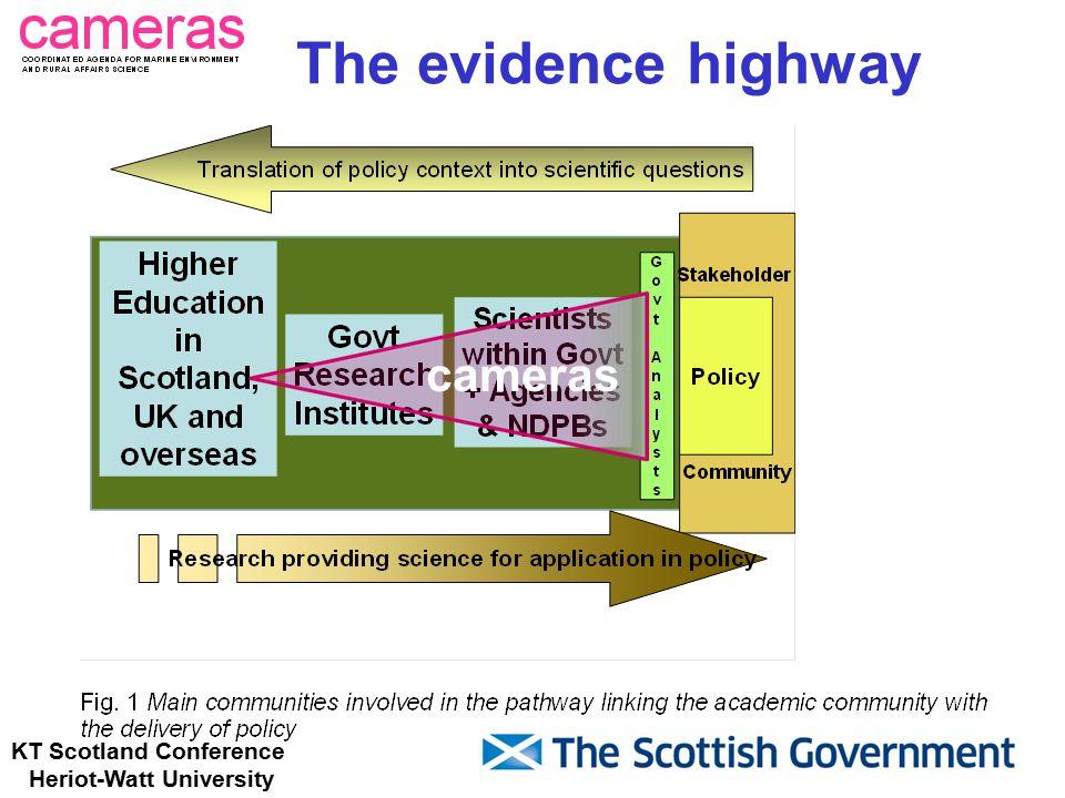 KT Scotland Conference Heriot-Watt University The evidence highway cameras