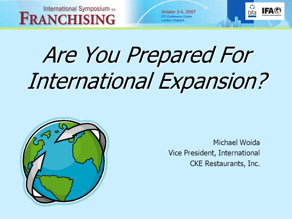 Are You Prepared For International Expansion.