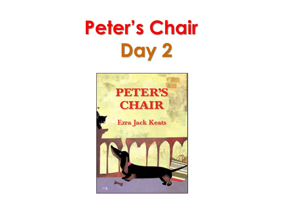 Peter's Chair Day 2