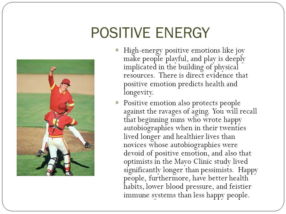 POSITIVE ENERGY 3.