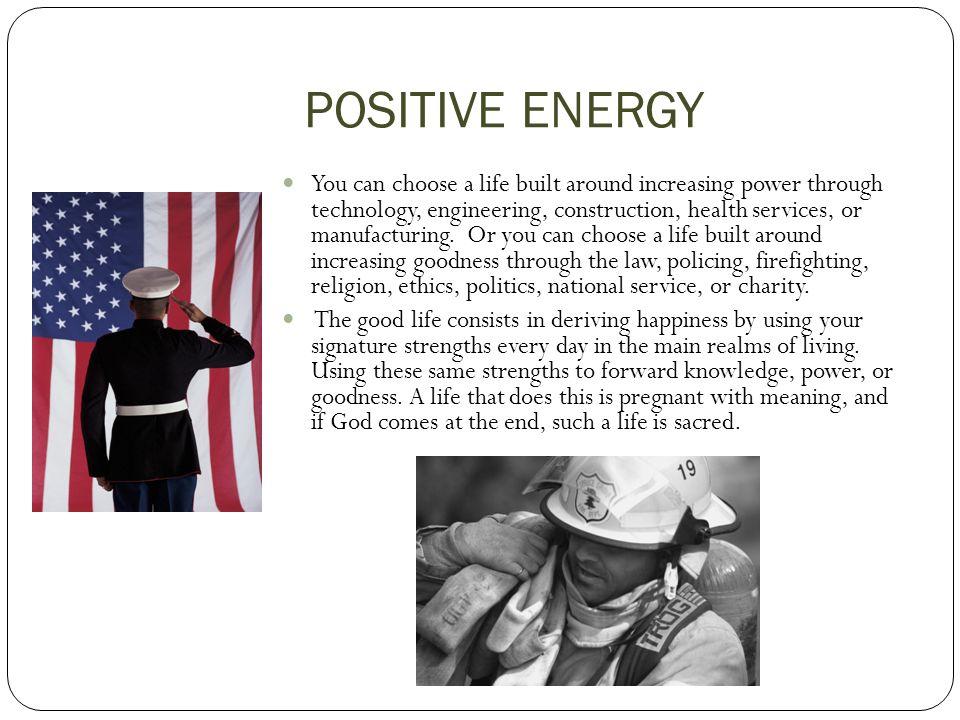 POSITIVE ENERGY – Dr.