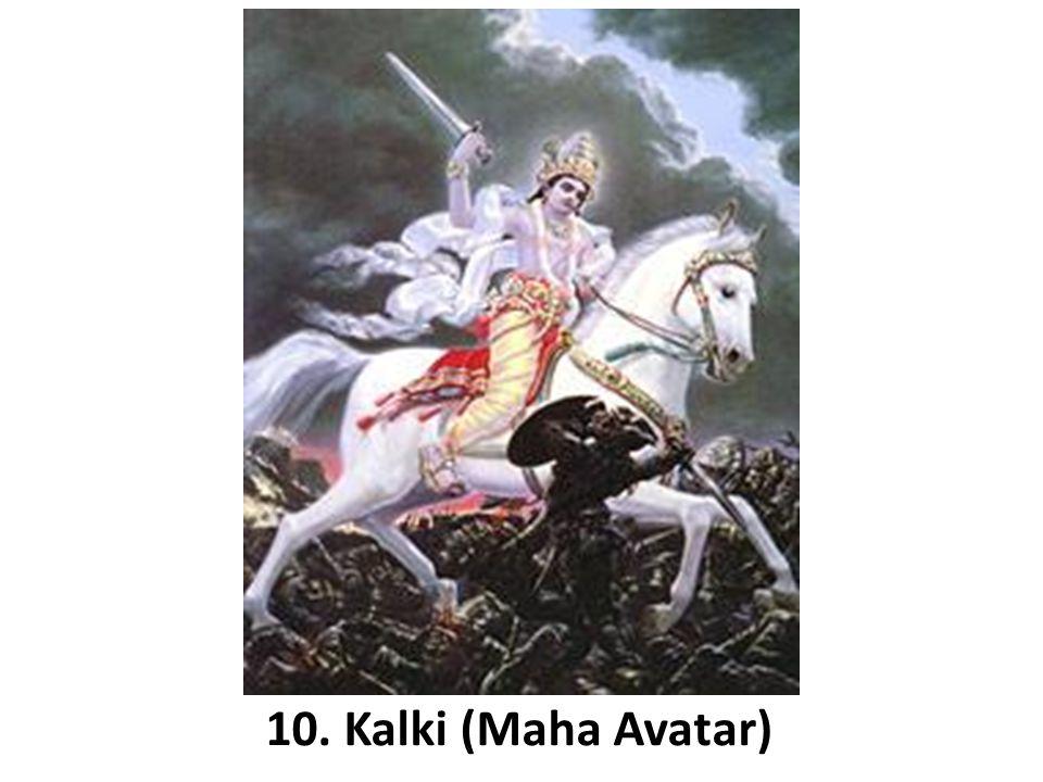 10. Kalki (Maha Avatar)