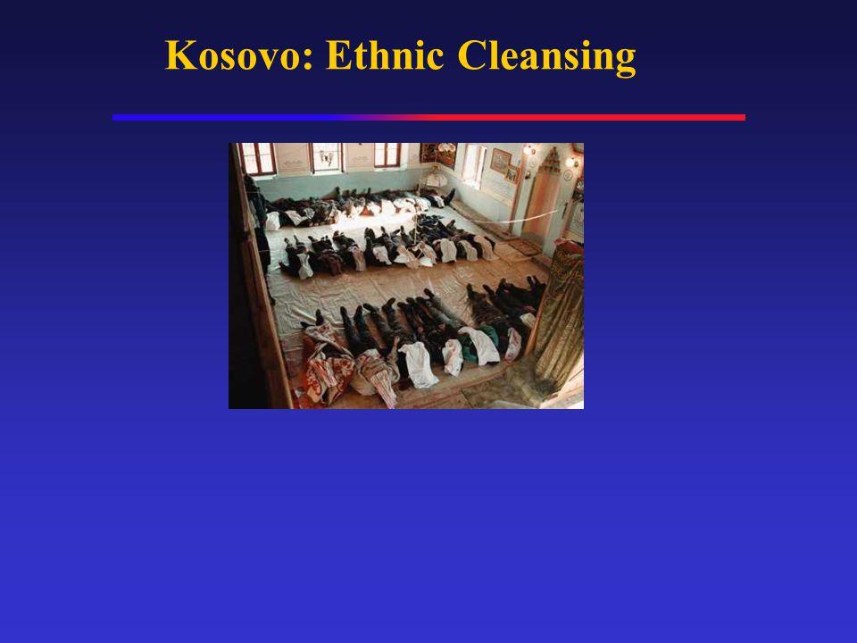 Kosovo: Ethnic Cleansing