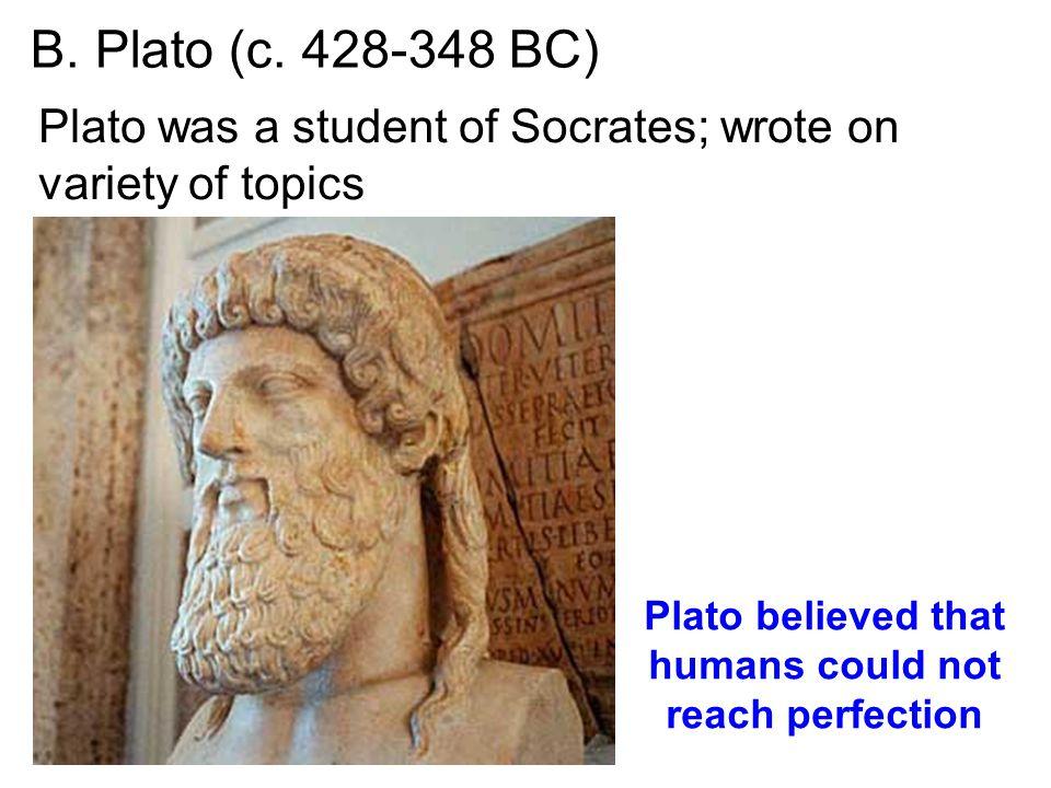 B. Plato (c.