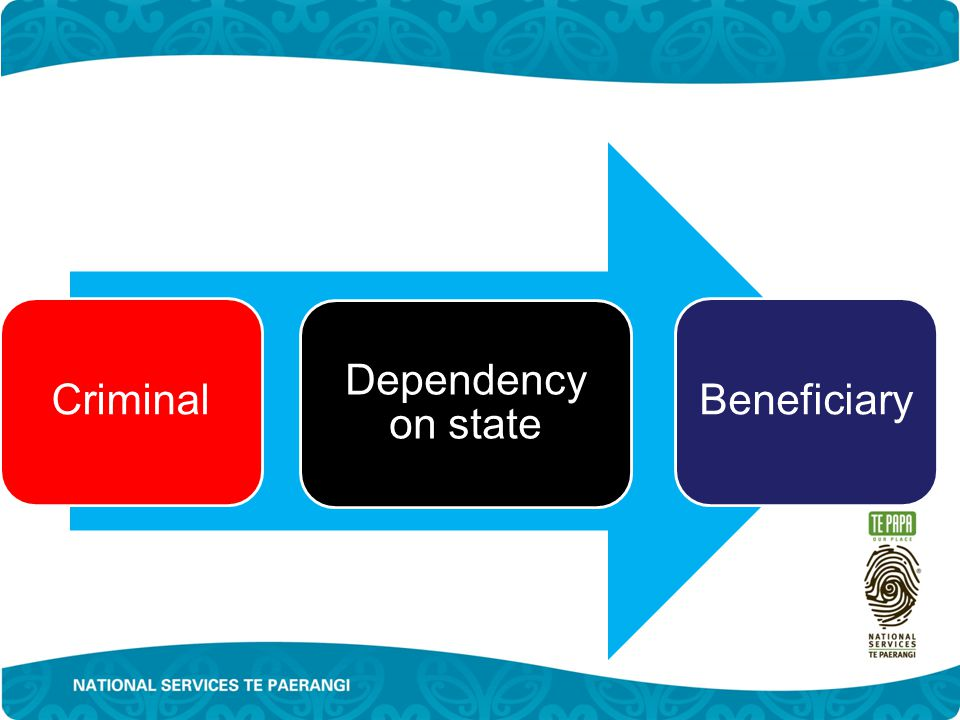 Criminal Dependency on state Beneficiary