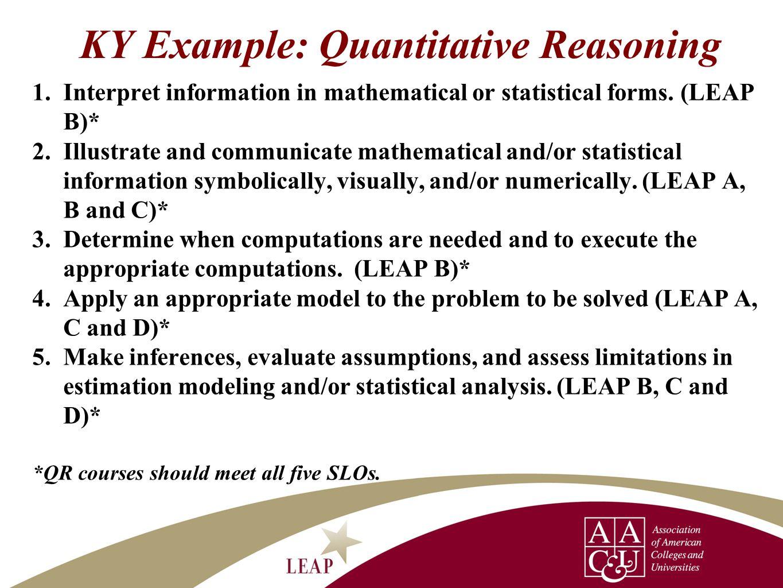 Assignment Scaffold InterpretationRepresentation & Communication CalculationApplication/Analy sis Assumptions Interpret mathematical and/or statistical information.