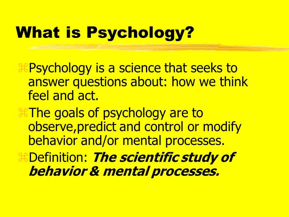 Psychology's Big Issues zStability vs.