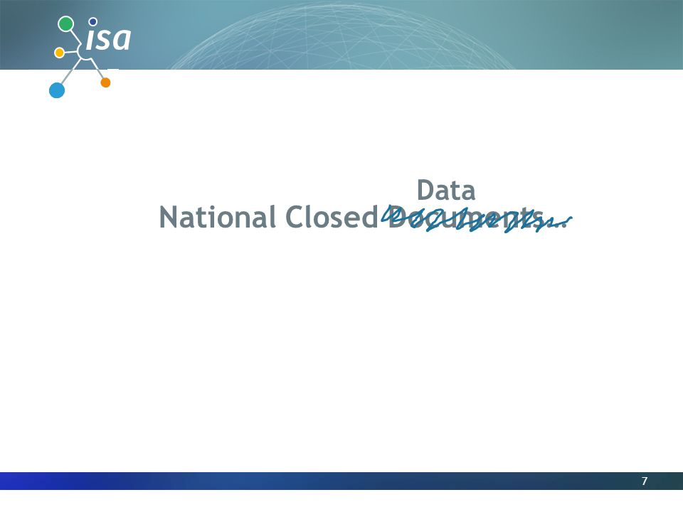 7 National Closed Documents… Data