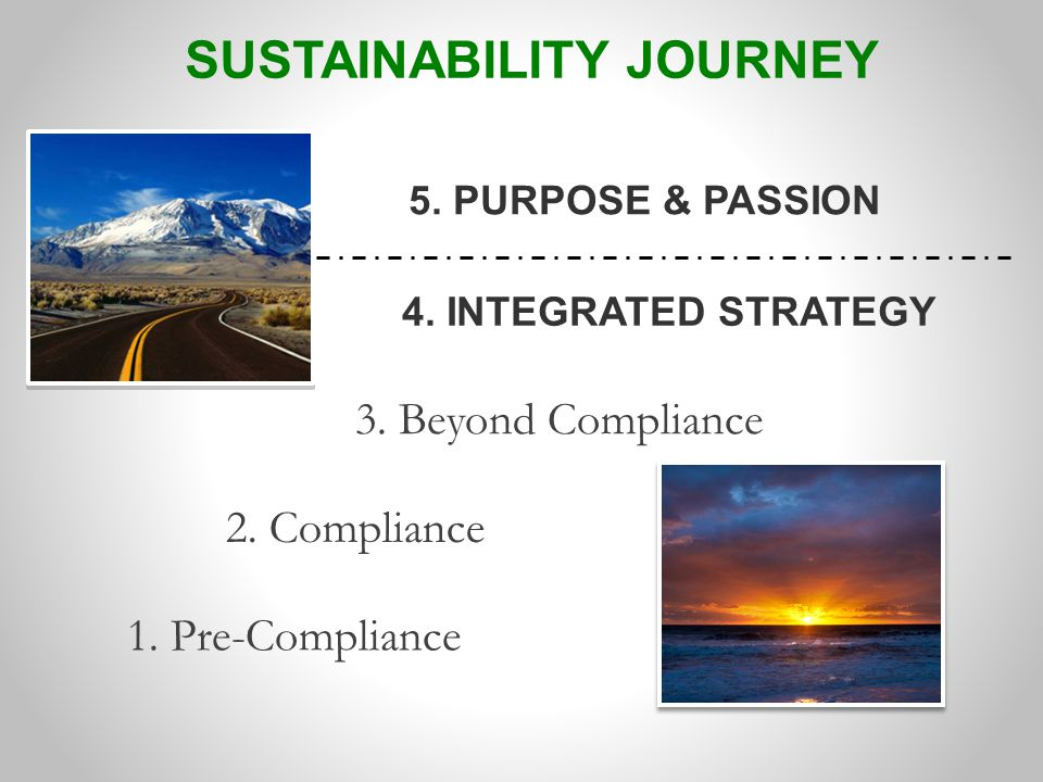 1. Pre-Compliance 2. Compliance 4. INTEGRATED STRATEGY 5.